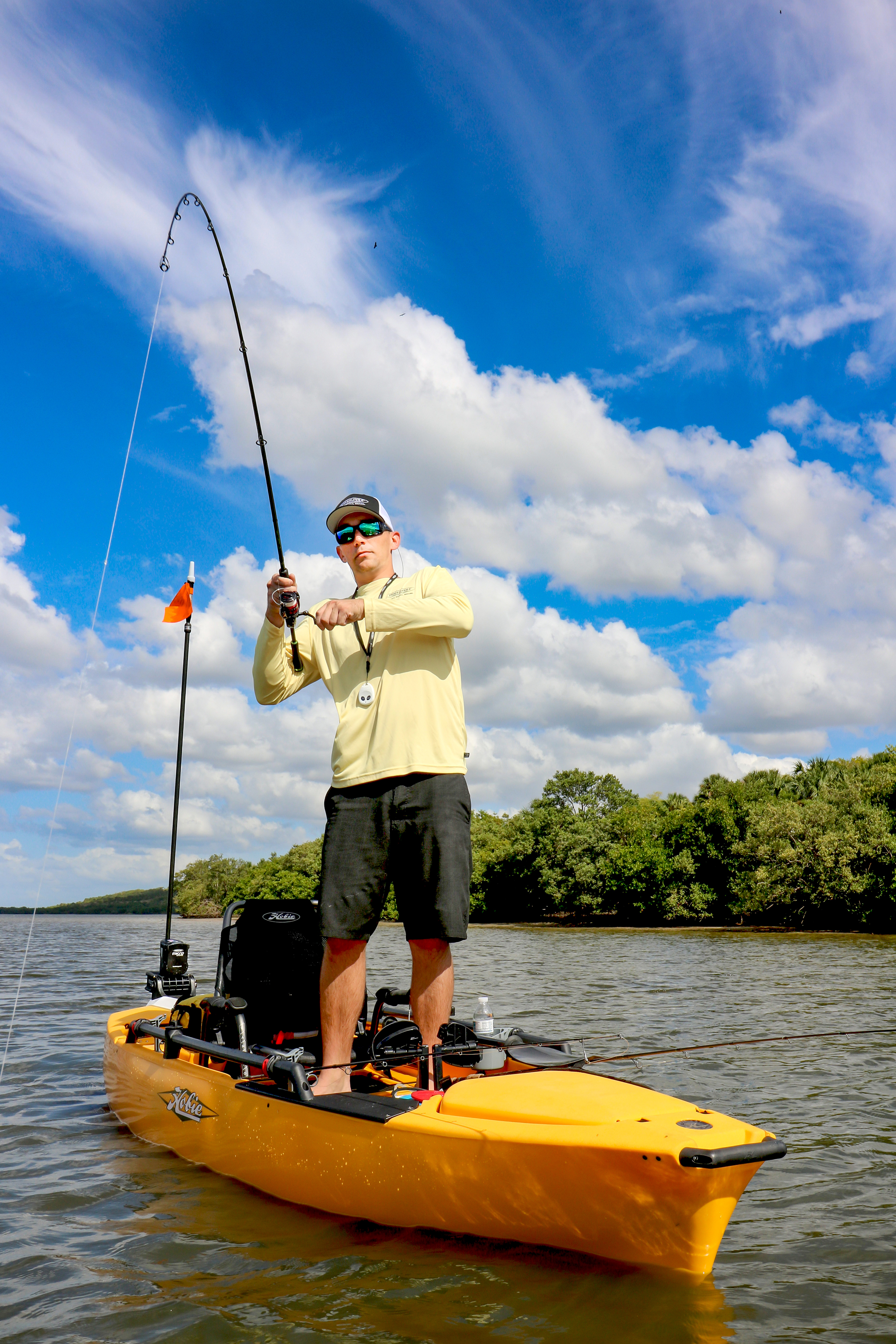 Kayak Fishing With the Micro Driver and Spike